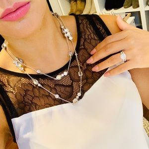 Authentic Kate Spade Diamond Necklace